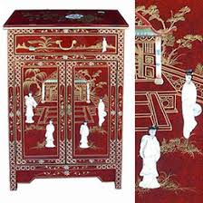 red lacquered furniture. Chinese Red Lacquer Mother Of Pearl Furniture Lacquered R