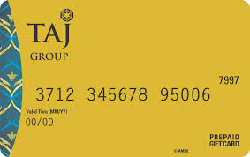 about the card the taj american express privilege gift