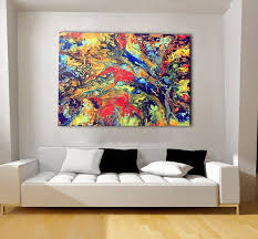abstract wall art extra large canvas