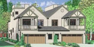 d 432 mediterranean duplex house plans beach duplex house plans vacation house plans