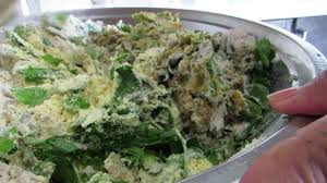 Image result for Green Leaves Missi Roti Recipe