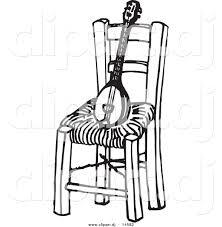 chair clipart black and white. Wonderful White On Chair Clipart Black And White I