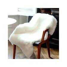 faux fur area rugs chair throw small ivory faux fur area rug rugs faux sheepskin area