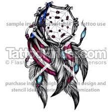 Purchase Dream Catchers America Flag With Dreamcatcher Tattoo Design 49