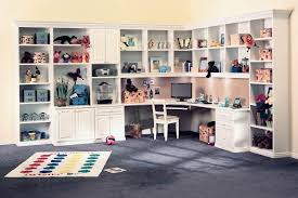 custom home office wall. custom home office for kids and teenagers with builtin corner desk wall f
