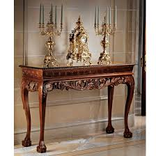 Design Toscano Saffron Hill Console Table Le Monde Palace Console Table