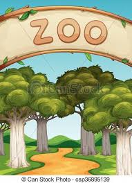 zoo clipart. Perfect Clipart Zoo Clipart Scenery Svg Library Inside Clipart