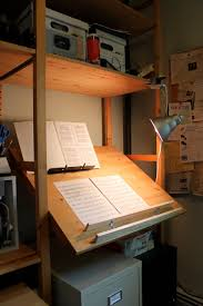 ikea industrial furniture. Cool Wooden Drafting Tables Ikea Built In Shelves With Spotlight And Filling Drawer For Home Furniture Industrial