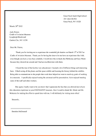 Best Ideas Of Sample Job Shadow Thank You Letters Letter Simple