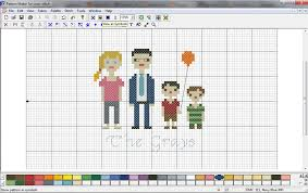 Cross Stitch Pattern Generator Magnificent Ellementary Home CrossStitch Family Portrait