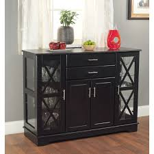 Kitchen Buffet Furniture Kitchen Black Staining Wooden Dining Room Buffet With Hutch With