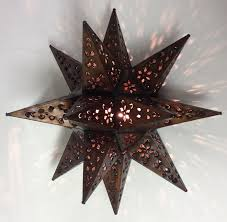 metal star wall decor:  a   a  a
