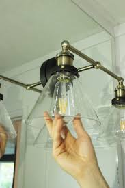 install lighting fixture. Install The Lighting Bulbs Fixture