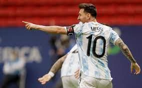 Messi in the Copa América best XI