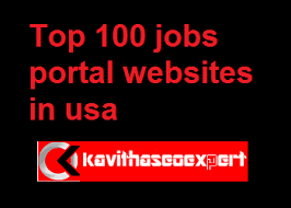 Best Job Portal In Usa Which Is The Best Us Job Portal Kavithaseoexpert Seo