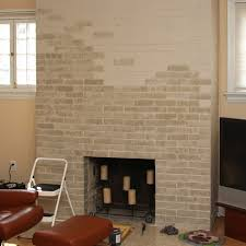 fireplace paint ideas16 Fireplace Painting Ideas Brick Super Cool  thebusylifeus