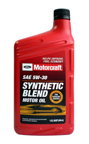 motorcraft sae 5w 30 synthetic blend motor oil xo 5w30 qsp 1 quart high quality