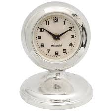 interesting silver table clock modern desk clock silver round clock og clock desk clock
