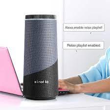 Akıllı ses kontrolü hoparlör ile Amazon Alexa Siroflo çok oda kablosuz  bluetooth radyo hoparlörler çağrı çalar AUX Handsfree|AI Speakers