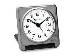 seiko folding travel alarm clock c0506