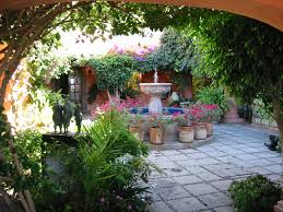 Small Picture Mexican Courtyards and Patios The courtyard is a central part of