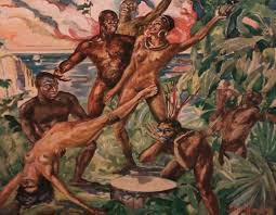 Orgy in the jungle