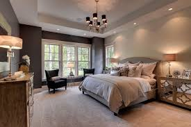 bedroom staging. Inspiration For A Timeless Carpeted Bedroom Remodel In Minneapolis With Gray Walls Staging
