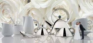 alessi s have been so por as wedding gifts that the pany has started its own bridal registry service alessi