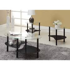oval glass coffee table canada in stylish armen living decca