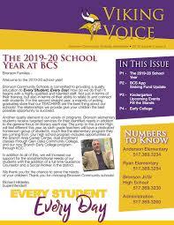 News Letters Newsletters Bronson Community Schools