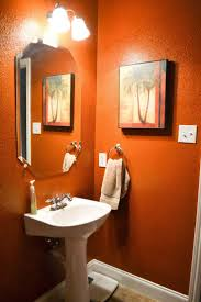 orange bathroom. bathroom: blue and orange bathroom cool home design contemporary under o