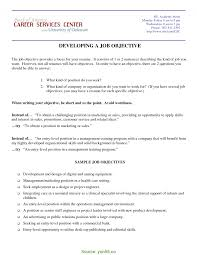 Complex Marketing Resume Objective Examples Objective Marketing