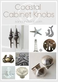 Coastal Cabinet Knobs and Pulls | Beach cottages, Bath and Creative