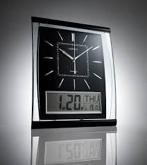 charming digital wall clock large digital atomic wall clocks large kg homewares silent wall unique ideas digital wall clocks for