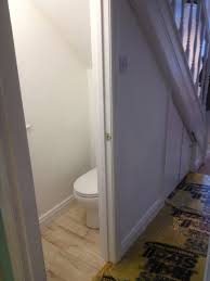 complete downstairs toilet added with bathroom installation in leeds