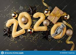Happy New Year 2020 Stock Photos Download 32541 Royalty