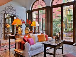 Old World Spanish Style Kitchen Furthermore Spanish Style Living Room