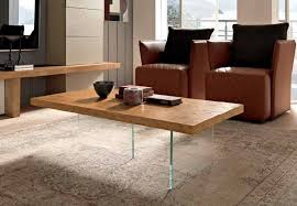 fgf ghost coffee table groove top in