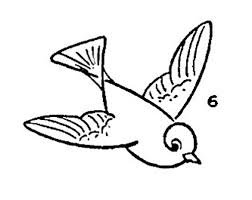 cute bird drawing flying. Modren Cute Click HERE For The Full Size Printable PDF Of Birds In Flight Drawing  Page To Cute Bird Flying I