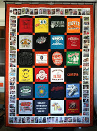 Custom Memory Quilts - Home & Our first born son's graduation quilt: Adamdwight.com