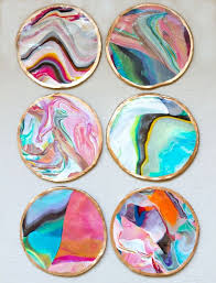 coaster painting ideas 30 diy coaster gifts the