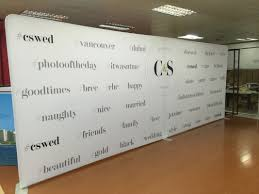 Small Picture Logo walls for Weddings