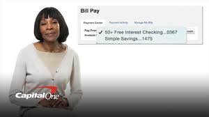 We did not find results for: How To Set Up Bill Pay Reducing Unnecessary Errands Capital One Youtube