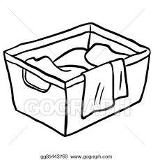 laundry clipart black and white. Plain White Black And White Laundry Basket With Laundry Clipart Black And White E