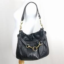 Coach Hamptons Belted Hobo Shoulder Bag 10205