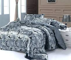 grey king size comforter king size comforter cover paisley bedding set super queen double silver grey grey king size comforter
