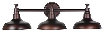 industrial bath lighting. kimball 3light vanity light bronze industrialbathroomvanitylighting industrial bath lighting o