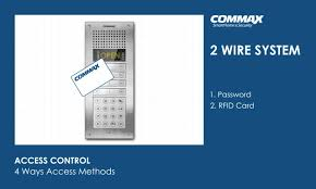 commax 2 wires system youtube CCTV Camera Wiring Diagram commax 2 wires system
