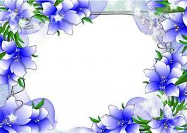 Small Picture Beautiful blue flower border design border design Page flower