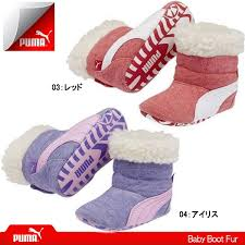 puma shoes for girls. puma sneakers kids baby boots fur boot 355185 first shoes boys girls puma for